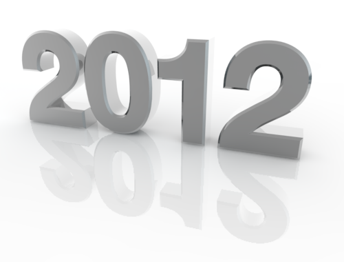 2012年の目標と現実